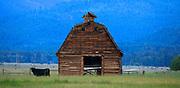 Barn near Gold Creek, Montana.