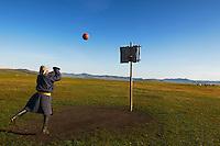 Mongolie. Province de Tov. Joueur de basket. // Mongolia. Tov province. Basket ball player.