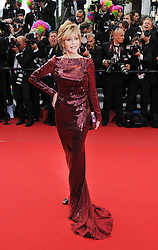 Jane Fonda  at the premiere of Madagascar 3 Europe's Most Wanted at the Cannes Film Festival, Friday, May 18th  2012. Photo by: Ki Price  / i-Images