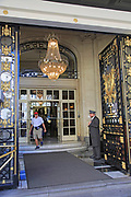 Foyer of Westin Palace Hotel, Madrid city centre, Spain opened 1912