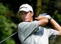 LEUSDEN -  Winnaar bij de amateurs, Inder van Weerelt.    Stern Open 2003 op de Hoge Kleij. COPYRIGHT KOEN SUYK