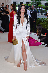 Katie Lee walking the red carpet at The Metropolitan Museum of Art Costume Institute Benefit celebrating the opening of Heavenly Bodies : Fashion and the Catholic Imagination held at The Metropolitan Museum of Art  in New York, NY, on May 7, 2018. (Photo by Anthony Behar/Sipa USA)