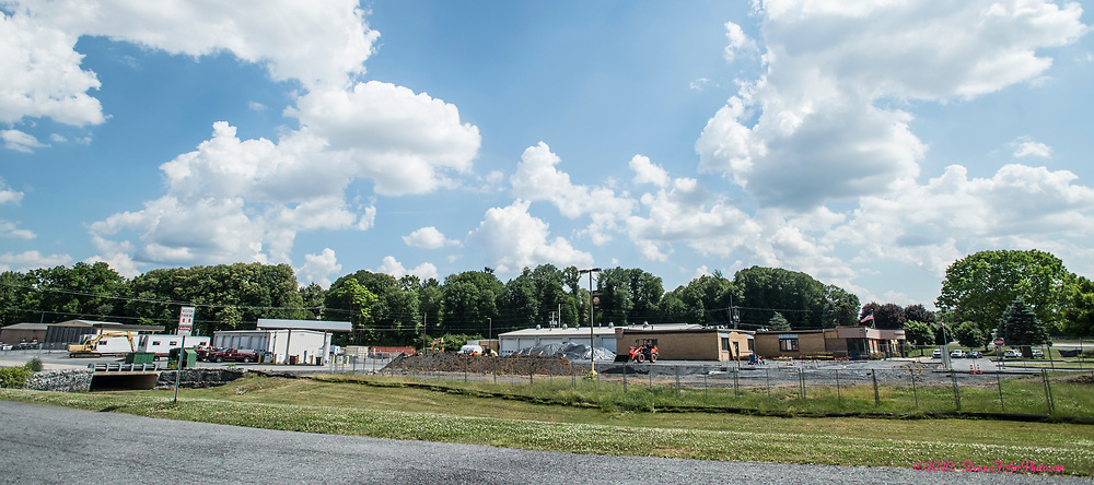 Whitehall Township Municipal Building and surrounding property are undergoing major renovations. Scenes along MacArthur Road in Whitehall Twp., Lehigh County, Pa.. Picture made June, 2020.<br />  Donna Fisher Photography, LLC