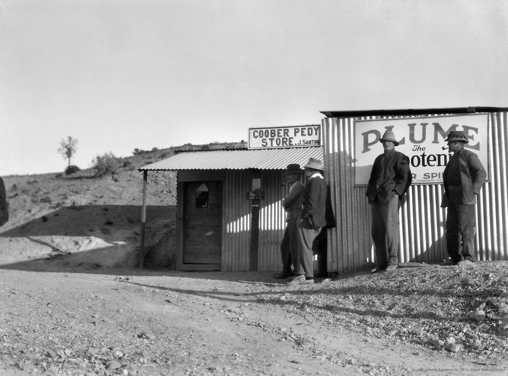 The Coober Pedy Store, Coober Pedy Opal Fields, South Australia, 1930