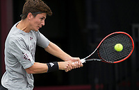 PVAMU vs. Texas A&M in an NCAA college tennis match, Sunday, March 12, 2017, in College Station, Texas.