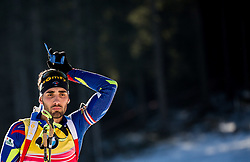 Martin Fourcade (FRA) during Men 12,5 km Pursuit at day 3 of IBU Biathlon World Cup 2015/16 Pokljuka, on December 19, 2015 in Rudno polje, Pokljuka, Slovenia. Photo by Vid Ponikvar / Sportida