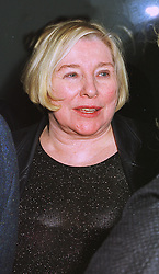 Writer FAY WELDON at a party in London on 25th January 1999.MNL 8