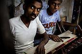 Silk weavers of Varanasi