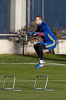 Pau Lopez during the training of Spanish national team under 21 at Ciudad del El futbol  in Madrid, Spain. March 21, 2017. (ALTERPHOTOS / Rodrigo Jimenez)