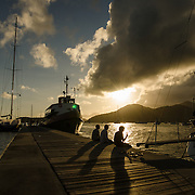 The night before the classic yacht race. <br /> <br /> 2015. Wonderful yachts and passionate sailors, from all over the world, are gathering in Antigua for the 28th edition of the Antigua Classic Yacht Regatta, sponsored by Panerai.