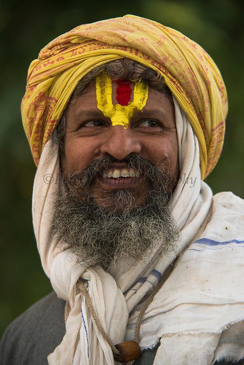 Holy Man<br /> Bharatpur<br /> Rajasthan, India