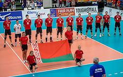 24-09-2016 NED: EK Kwalificatie Nederland - Wit Rusland, Koog aan de Zaan<br /> Nederland verliest de eerste twee sets / Wit Rusland