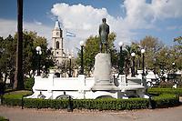 PLAZA RUIZ DE ARELLANO, SAN ANTONIO DE ARECO, PROVINCIA DE BUENOS AIRES, ARGENTINA