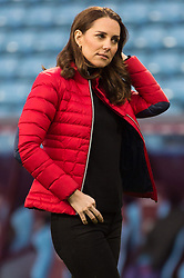 © Licensed to London News Pictures. 22/11/2017. Birmingham, UK. CATHERINE,  DUCHESS OF CAMBRIDGE visits Aston Villa Football Club to see the work of the Coach Core programme taking place in Birmingham.Photo credit: Ray Tang/LNP