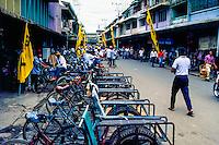 Riau Islands, Bintan. From the center of Tanjung Pinang. Bicycle transportation.