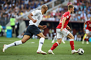 Steven NZONZI of France, Christian ERIKSEN of Denmark during the 2018 FIFA World Cup Russia, Group C football match between Denmark and France on June 26, 2018 at Luzhniki Stadium in Moscow, Russia - Photo Thiago Bernardes / FramePhoto / ProSportsImages / DPPI