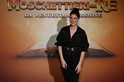 Giulia Bevilacqua at Moschettieri del Re PhotpCall , Rome, Italy, 18 Dicembre 2018  (Credit Image: © Antonio Fraioli/Soevermedia via ZUMA Press)