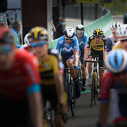 PFAFFNAU (SUI) CYCLING<br /> Tour de Suisse stage 3<br /> Tom Dumoulin komt binnen in de groep