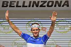 June 16, 2018 - Gommiswald, Suisse - BELLINZONA, SWITZERLAND - JUNE 16 : DEMARE Arnaud (FRA)  of FDJ during stage 8 of the Tour de Suisse cycling race, a stage of 123 kms between Bellinzona and Bellinzona on June 16, 2018 in Bellinzona, Switzerland, 16/06/2018 (Credit Image: © Panoramic via ZUMA Press)