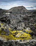 Leirhnjukur is a mountain north of the Krafla caldera but the area around the small mountain is often called the Leirhnjukur area.