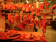 Kowloon Meat Market and Butcher, Hong Kong, Asia,  April 2000
