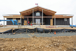 Meigs Point Nature Center at Hammonasset Beach State Park  <br /> Connecticut State Project No: BI-T-601<br /> Architect: Northeast Collaborative Architects  Contractor: Secondino & Son<br /> James R Anderson Photography New Haven CT photog.com<br /> Date of Photograph: 21 December 2015<br /> Camera View: 06