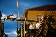 Rab Medieval Crossbow Tournament. Rab, Croatia. The tournament, which dates back to the 14th century and marks the successful defense of the city against a seige in 1358, was revived by the Rab Crossbowmen's Association (Udruga rapskih samostrelicara) in 1995, and is held annually on 9 May, 25 June, 27 July (St Christopher's Day, the city's patron saint) and 15 August (Assumption Day). It is one of only two such tournaments using the medieval crossbow (the other is in San Marino in Italy) - a heavy weapon which shoots a handcrafted wooden bolt at speeds of around 90m per second. 25 June is Croatian National Day or Statehood Day, and marks the country's declaration of independance from Yugoslavia in 1991. © Rudolf Abraham