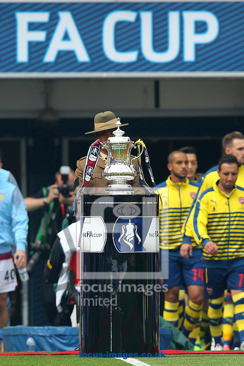 The famous old Trophy before the FA Cup Final at Wembley Stadium, London<br /> Picture by Paul Chesterton/Focus Images Ltd +44 7904 640267<br /> 30/05/2015