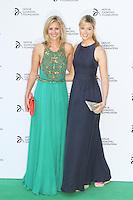 Holly Branson; Isabella Calthorpe, Novak Djokovic Foundation London gala dinner, The Roundhouse London UK, 08 July 2013, (Photo by Richard Goldschmidt)