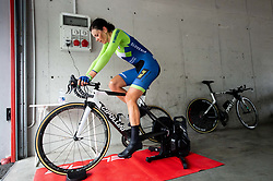 Eugenia Bujak of Slovenia during Women Time Trial at UCI Road World Championship 2020, on September 24, 2020 in Imola, Italy. Photo by Vid Ponikvar / Sportida