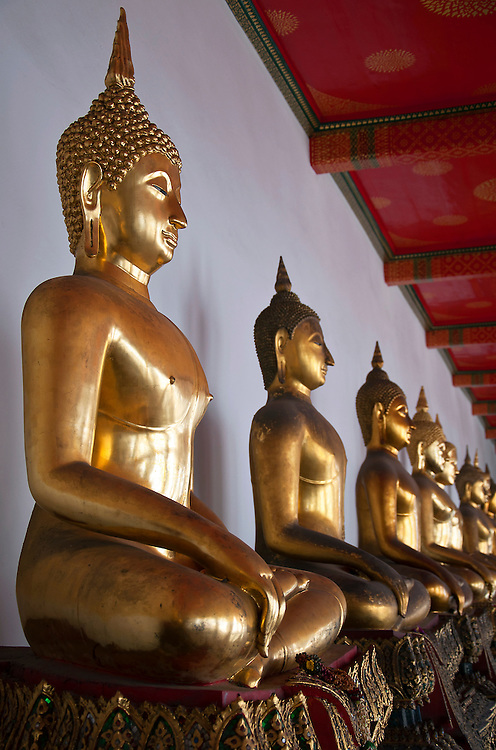 Golden Buddha Staues.