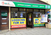 Nova training apprenticeships advice shop, East Dereham, Norfolk, England, UK