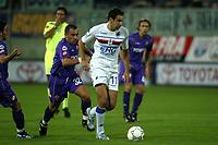 Firenze 27-08-2005<br />Campionato  Serie A Tim 2005-2006<br />Fiorentina Sampdoria<br />nella  foto Brocchi e Zauli<br />Foto Snapshot / Graffiti