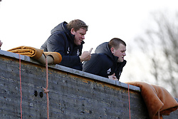 March 14, 2018 - Rendeux, Belgique - Hein Vanhaezebrouck head coach of RSC Anderlecht - illustration rafting  pictured during the team building of Rsc Anderlecht in Rendeux , Belgium. ***RENDEUX, BELGIUM - March 14, 2018 EXCLUSIF (Credit Image: © Panoramic via ZUMA Press)