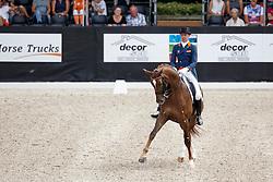 Minderhoud Hans Peter, (NED), Glock's Flirt<br /> Kingsley Donadeo Grand Prix<br /> Dutch Championship Dressage - Ermelo 2015<br /> © Hippo Foto - Dirk Caremans<br /> 17/07/15