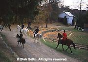 English Traditional Fox chase, York Co., PA