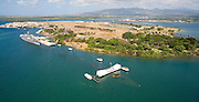 Ford Island, Uss Arizon, Uss Missouri, Pearl Harbor , Oahu, Hawaii<br />