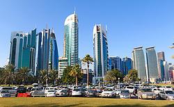 20.01.2015, Doha, QAT, FIFA WM, Katar 2022, Vorberichte, im Bild die Skyline von Doha // Preview of the FIFA World Cup 2022 in Doha, Qatar on 2015/01/20. EXPA Pictures © 2015, PhotoCredit: EXPA/ Sebastian Pucher