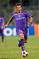 Fotball<br /> Italia<br /> Foto: Inside/Digitalsport<br /> NORWAY ONLY<br /> <br /> Mutu<br /> <br /> 28.08.2009<br /> Champions League Play-offs Leg 2<br /> Fiorentina v Sporting Lisboa 1-1
