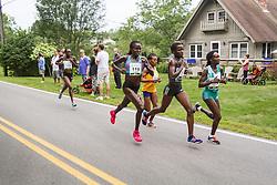 elite women's mile 2, leaders, Keitany