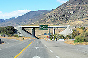 Highway 190on the way to Mitla and Oaxaca de Juárez, Mexico.