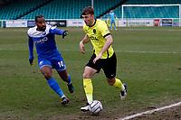 Jamie Stott. Eastleigh FC 1-0 Stockport County FC. Vanarama National League. Silverlake Stadium. 20.02.21