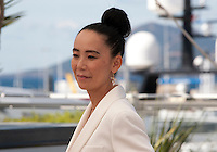 Naomi Kawase, Japanese director and President of the Cinefondation and Short Films Jury at a  photo call at the 69th Cannes Film Festival Thursday 19th May 2016, Cannes, France. Photography: Doreen Kennedy