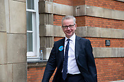 Michael Gove, Secretary of State for Environment, Food and Rural Affairs seen in Westminster, Central London, United Kingdom on 26th June 2019. Organisers of the Time is Now mass lobby demand politicians end the UKs contribution to climate change.