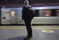 General views of Crewe train station, 2 November 2017