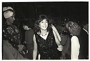 Ghislaine Maxwell, Chelsea Arts Ball, Royal Albert Hall. London 1985.