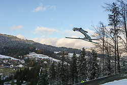 November 19, 2017 - Wisla, Poland - Aleksander Zniszczol (POL), competes in the individual competition during the FIS Ski Jumping World Cup on November 19, 2017 in Wisla, Poland. (Credit Image: © Foto Olimpik/NurPhoto via ZUMA Press)