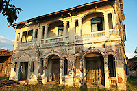 French Colonial Architecture in Laos - In order to make French colonists feel more at home and at the same time to reflect its vision of imperial grandeur, the French colonial government rebuilt Laotian cities according to European specifications.