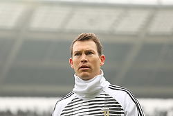 February 18, 2018 - Turin, Piedmont, Italy - Stephan Lichtsteiner (Juventus FC) before the Serie A football match between Torino FC and Juventus FC at Olympic Grande Torino Stadium  on 18 February, 2018 in Turin, Italy. (Credit Image: © Massimiliano Ferraro/NurPhoto via ZUMA Press)