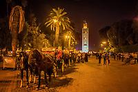 Djemaa el Fna Square, Marrakech, Morocco